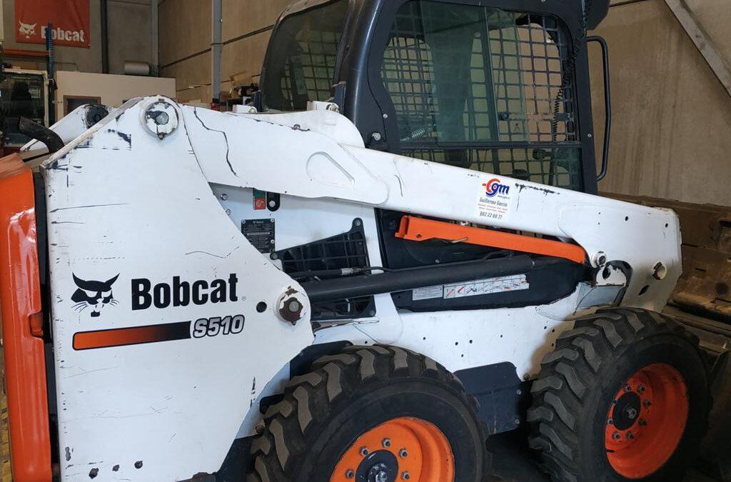 Cargadora compacta Bobcat S510